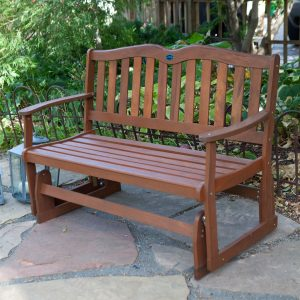 4-Ft Outdoor Patio Garden Loveseat