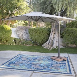 Square 8.5' offset patio umbrella
