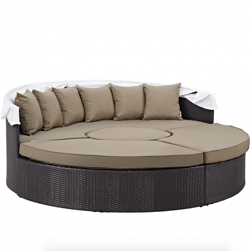 Canopy Daybed with Canopy Down