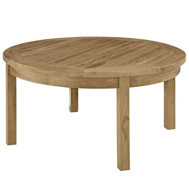 Teak Round Coffee Table Eei 1153