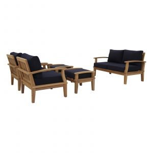 Teak Furniture Set in Navy