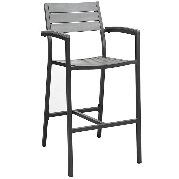 pub stool, patio bar stool, metal bar stool, aluminum bar stool, outdoor bar stool