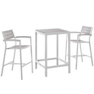 bar set, aluminum bar set, metal bar set, metal bar height set, patio bar, patio pub