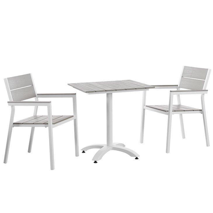 Fabulous 3 Piece Patio Dining Set Eei 1759 Ibusinesslaw Wood Chair Design Ideas Ibusinesslaworg