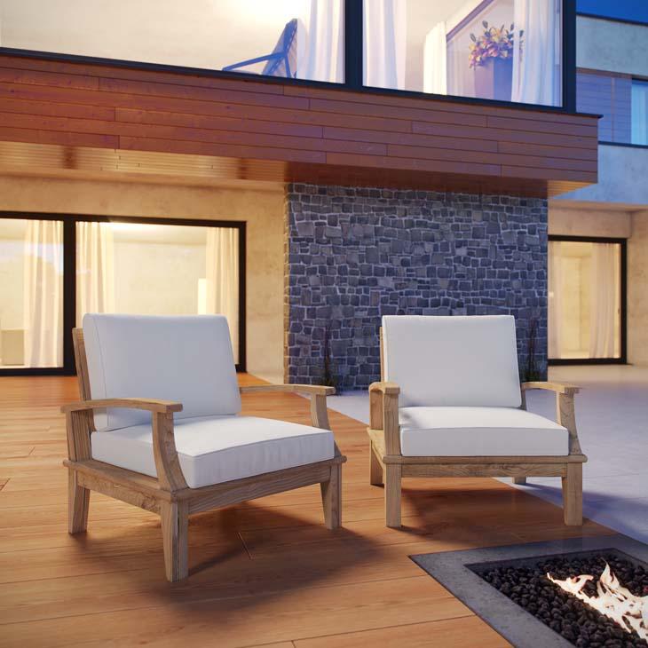 Teak Wood Patio Armchair Set, outdoor chair set, teak patio chair set, teak set, teak furniture set