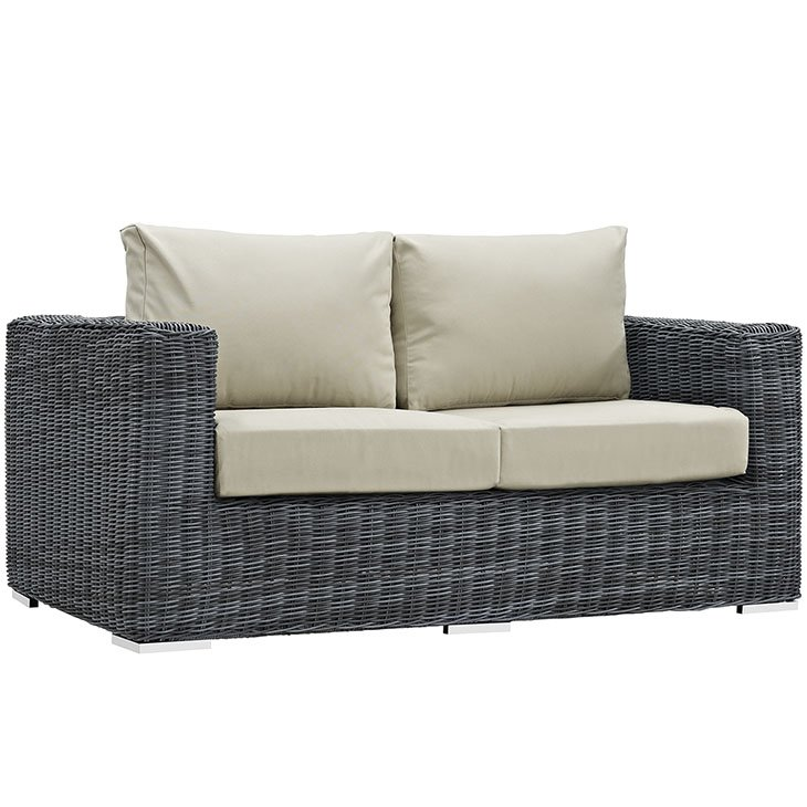 Outdoor Patio Sunbrella Loveseat Patio Furniture Co