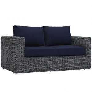 rattan, rattan loveseat, rattan deep seating, rattan outdoor patio sofa, rattan outdoor sofa, rattan patio furniture