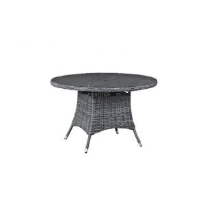 "47"" Round Outdoor Patio Dining Table"