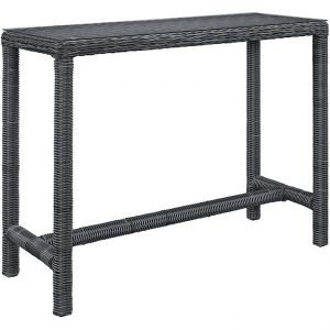 Large Outdoor Patio Bar Table in Gray EEI-1959