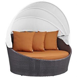Orange Day Bed