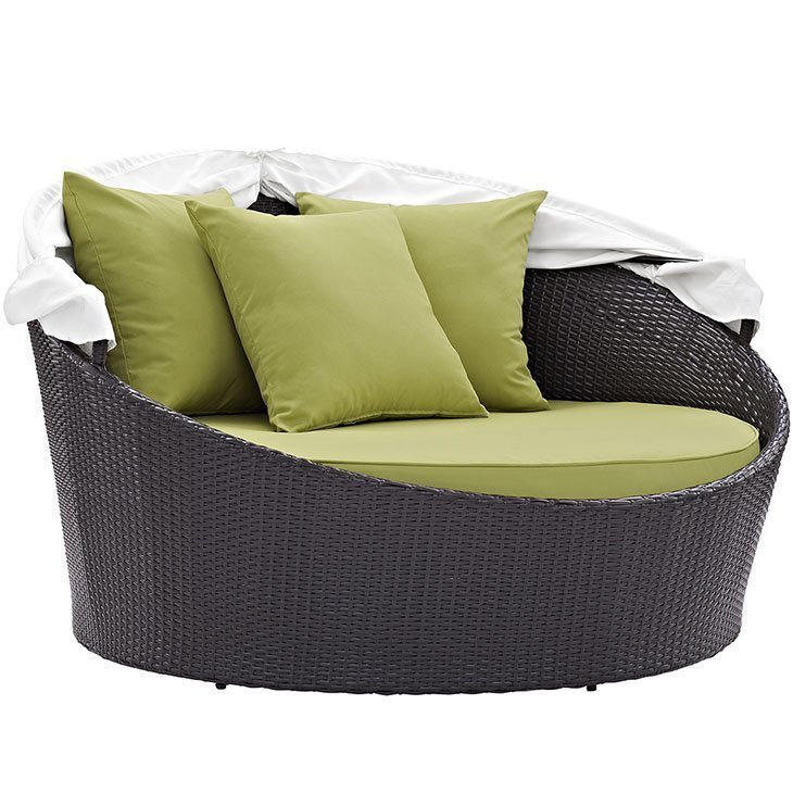 Green Day Bed with Canopy