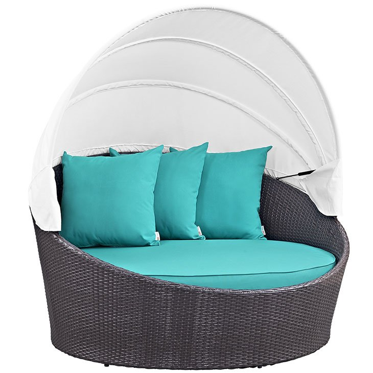 Turquoise Day Bed