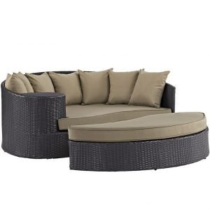Patio Day Bed Mocha