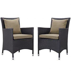 2 piece rattan dining chairs, rattan furniture, rattan chairs, dining chairs, patio dining chairs