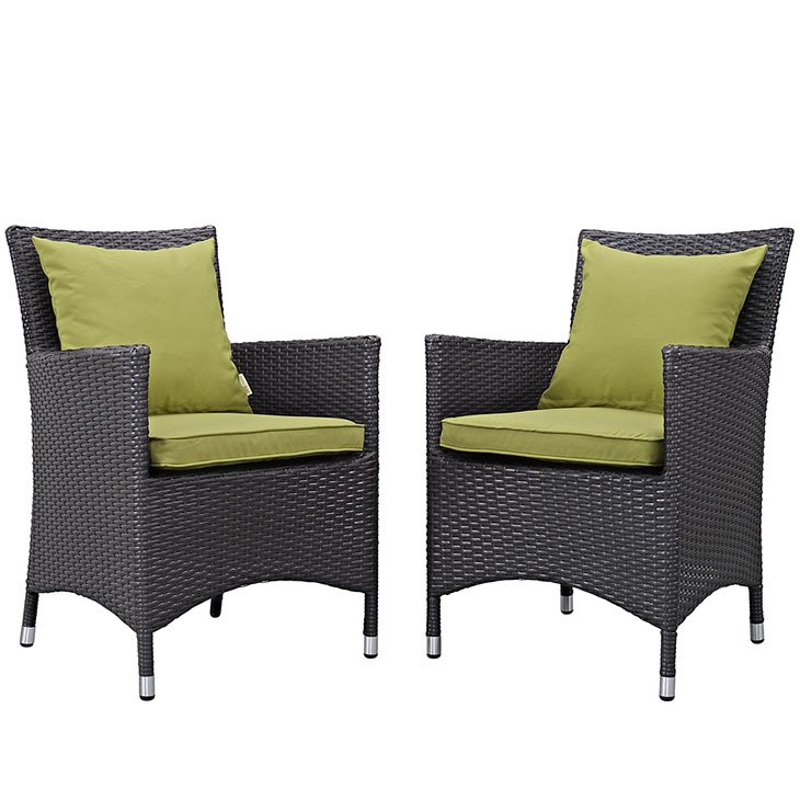 rattan dining chairs, patio dining chairs,