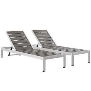 Outdoor Patio Aluminum Set of 2 EEI-2467