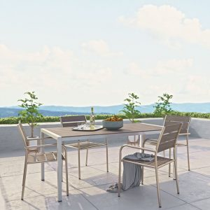 Modern Outdoor Furniture Set Aluminum Chairs