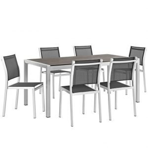 aluminum dining set, outdoor dining set, patio dining set, metal dining set