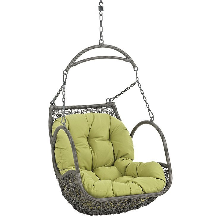Outdoor Patio Swing Chair Without Stand in Peridot EEI-2659