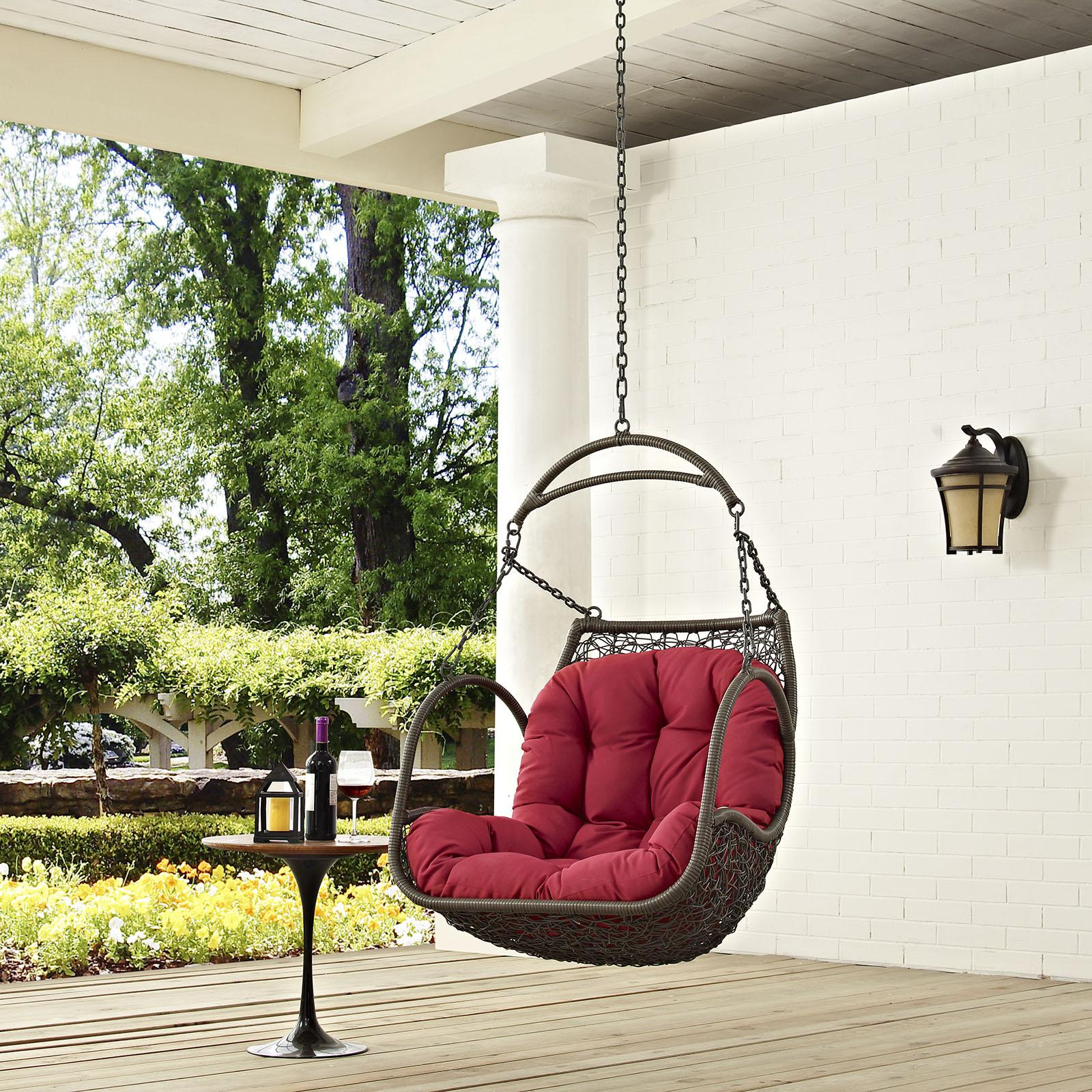Patio Swing Chair Without Stand EEI-2659 - Patio Furniture Co