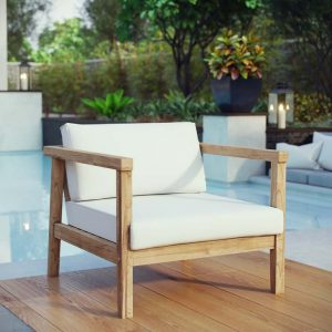 Outdoor Teak Patio Arm Chair