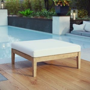 Teak Furniture Ottoman