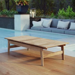 Teak Wood Patio Coffee Table
