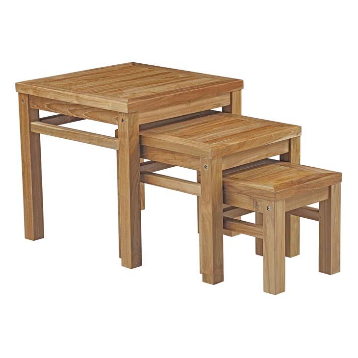 Teak Nesting Tables