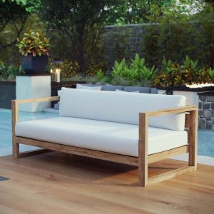 Teak Outdoor Sofa