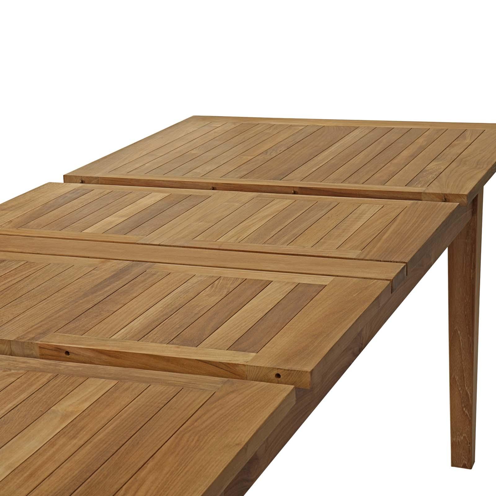 Patio Teak Dining Table Eei 2714