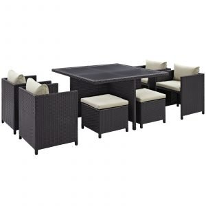rattan dining set, outdoor dining set, patio dining set, rattan furniture