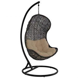 rattan chair, rattan, patio chair, outdoor chair, hanging chair, patio hanging chair, Patio Fabric Lounge Chair