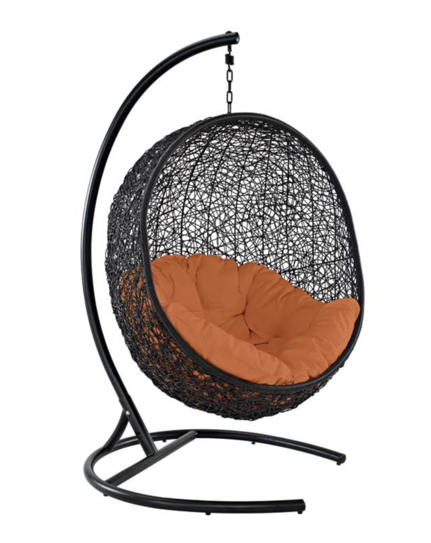 Orange Hanging Chair