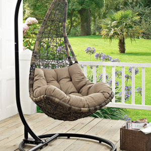Patio Hanging Swing Chair with Stand