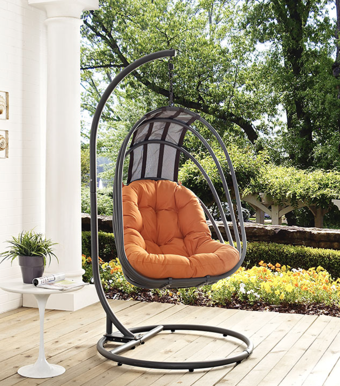 Swing Chair With Stand Hanging