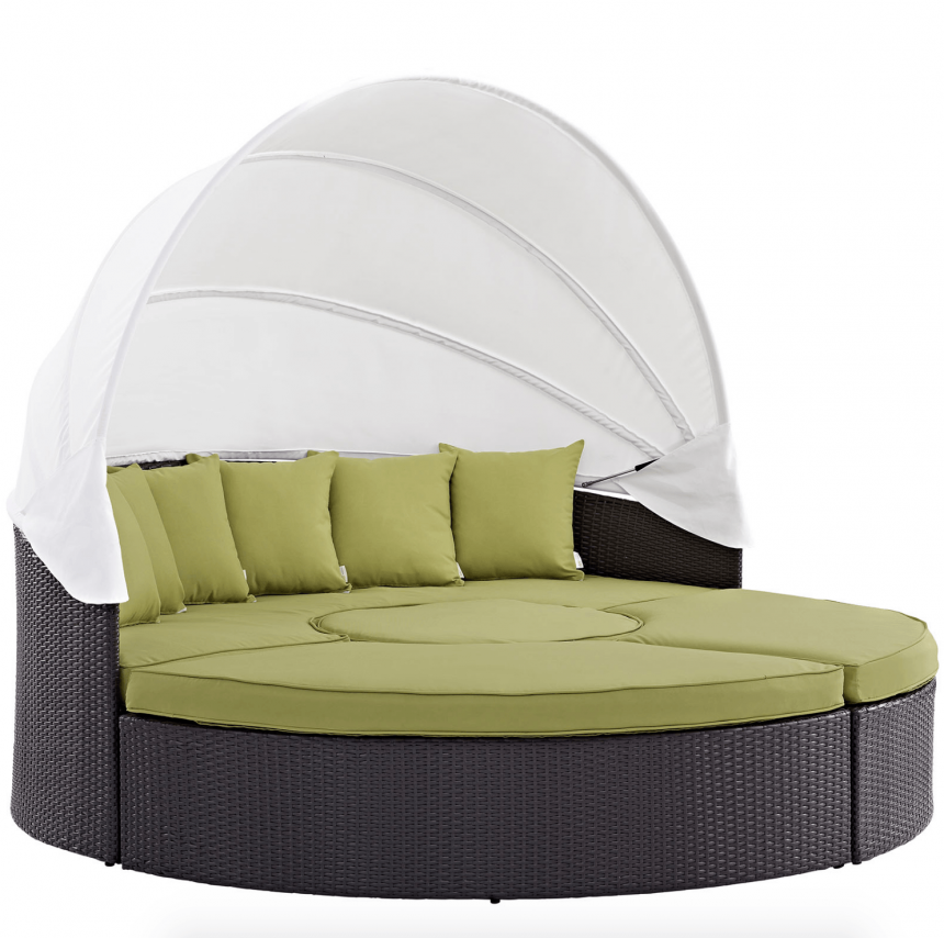 Canopy Daybed in Peridot Green