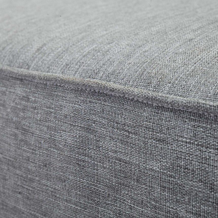 Gray cushion