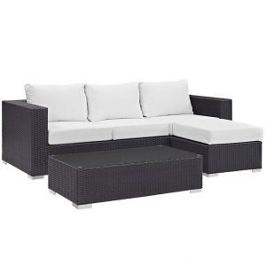 Outdoor Patio Sofa Set 3 piece