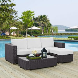 3 Piece Outdoor Patio Sofa Set EEI-2178