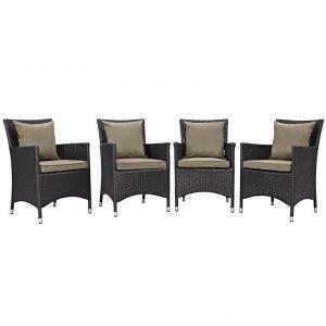 Mocha Dining Chair Set