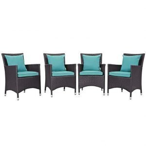 Turquoise Dining Chair Set