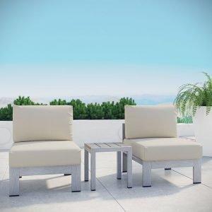 3 piece Aluminum Patio Furniture