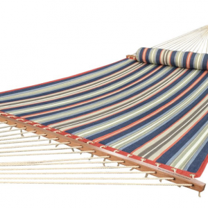 Quilted Hammock with Spreader Bar