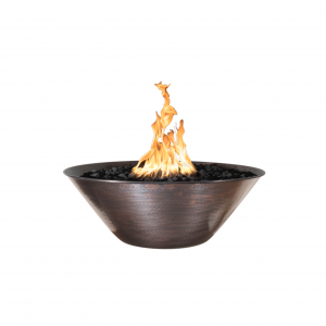 Copper Fire Bowl