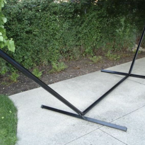Steel hammock stand