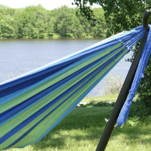 non-spreader bar hammock stand