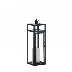 Black Iron Candle Lantern
