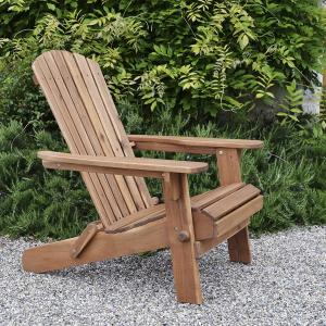 Hardwood Adirondack folding Armchair