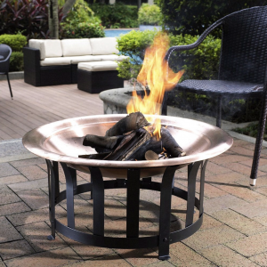 Oversized Copper Fire Pit