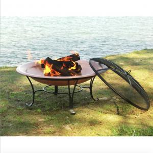 Portable Copper Fire Pit